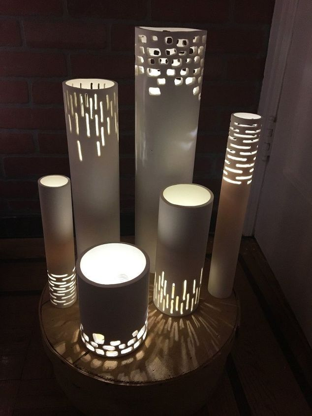 PVC Pipe Outdoor Lights