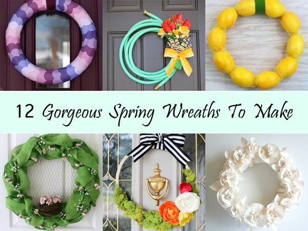 12 gorgeous spring wreaths to make