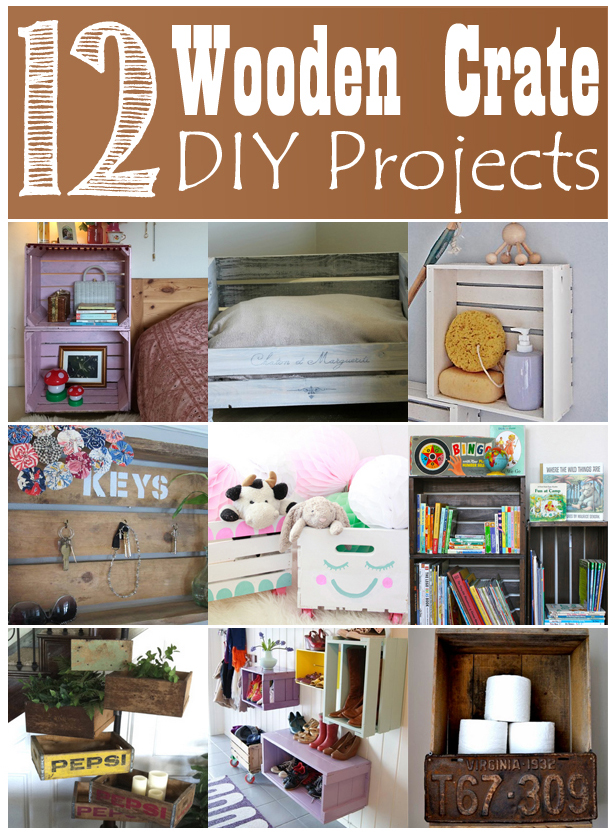 12 creative ideas to recycle wooden crates for diy home projects