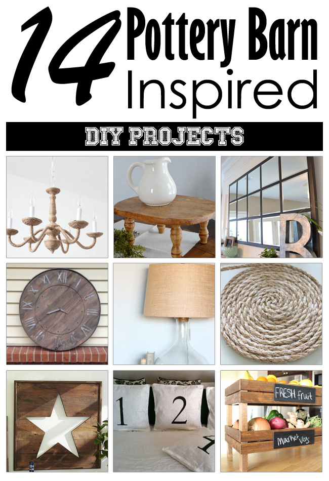 14 Pottery Barn Inspired Diy Projects