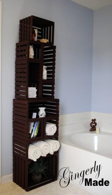 Crate Linen Cabinet