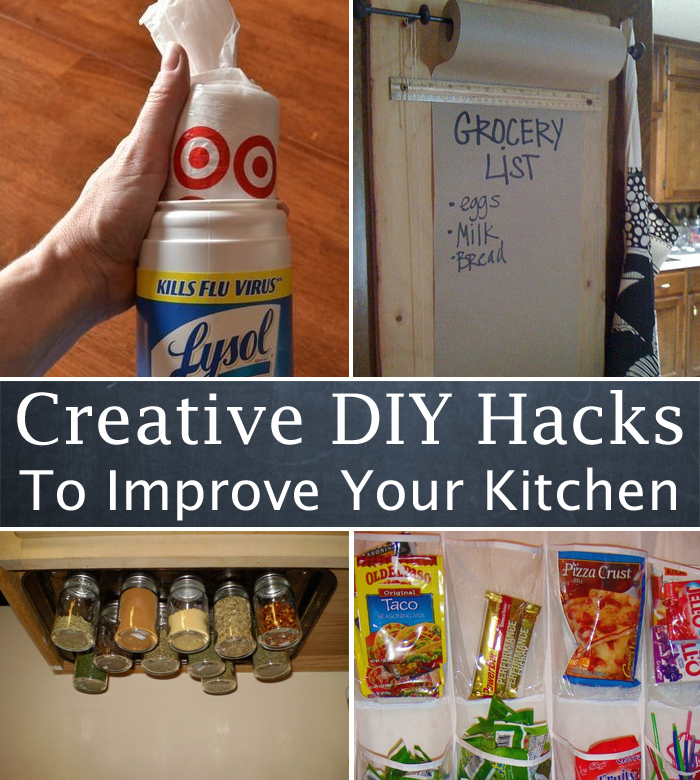 10 Creative DIY Hacks To Improve Your Kitchen