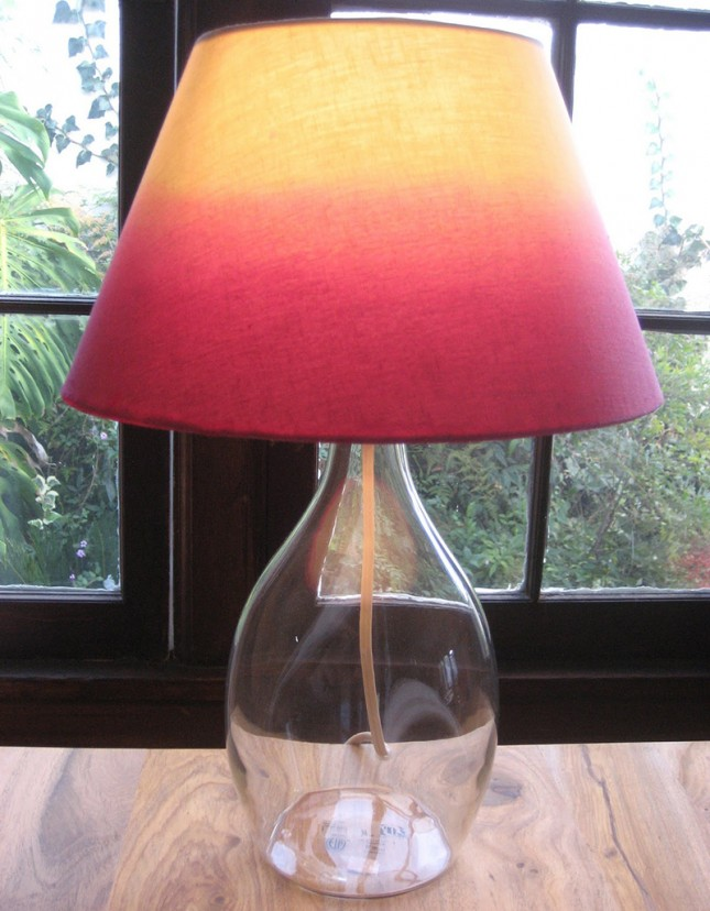 how to paint a lamp shade diy