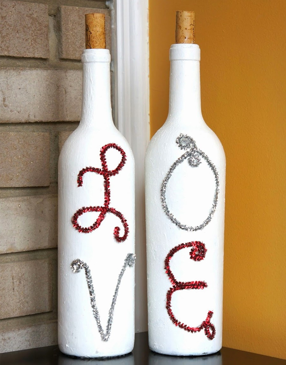 40 Creative Ideas For Interior Decorating With Wine Bottles Simple Decorative Wine Bottles Diy