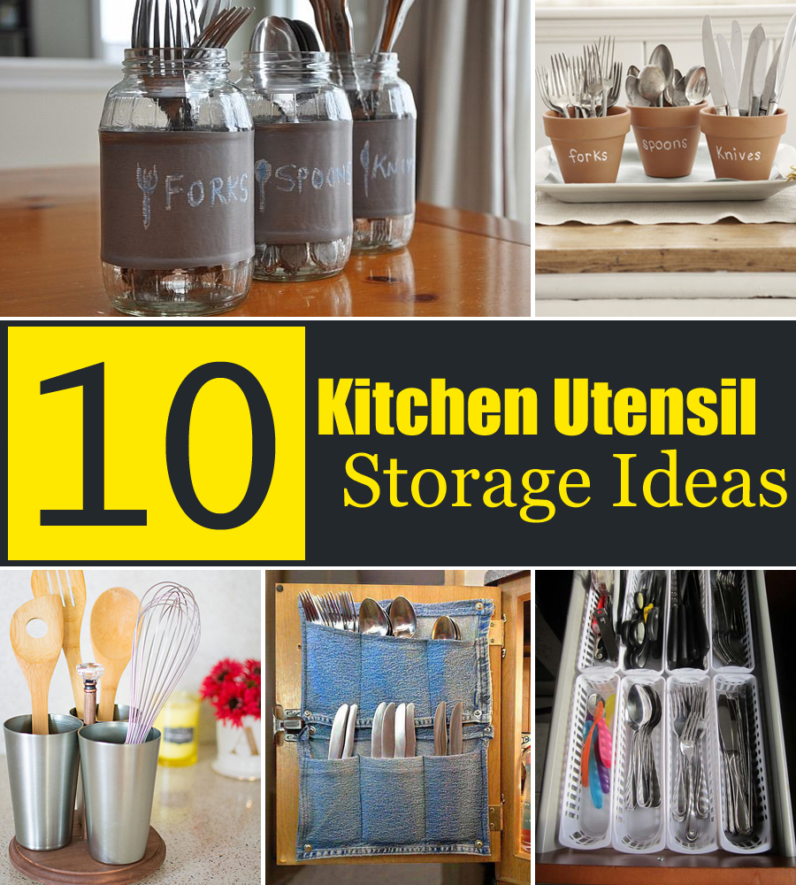 Some Kitchen Utensil Holder Ideas