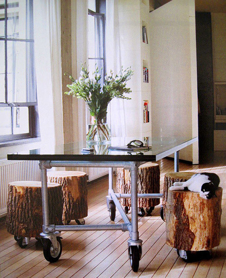 Creative Ways To Use Wood As Home Décor Pieces Within Your Home: 12 DIY Log Decorating Ideas For Your Home And Garden