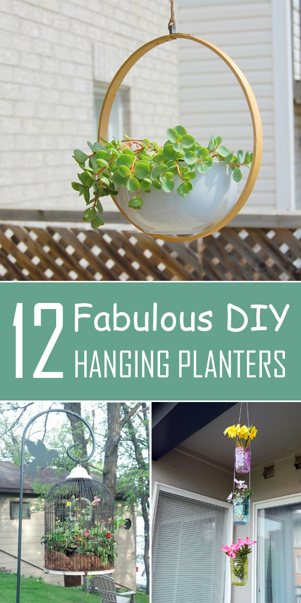Hang It! - 12 Fabulous DIY Hanging Planters