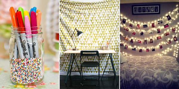 25 Easy Cheap DIY Dorm Decor Ideas