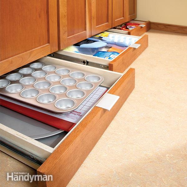Under-Cabinet Drawers