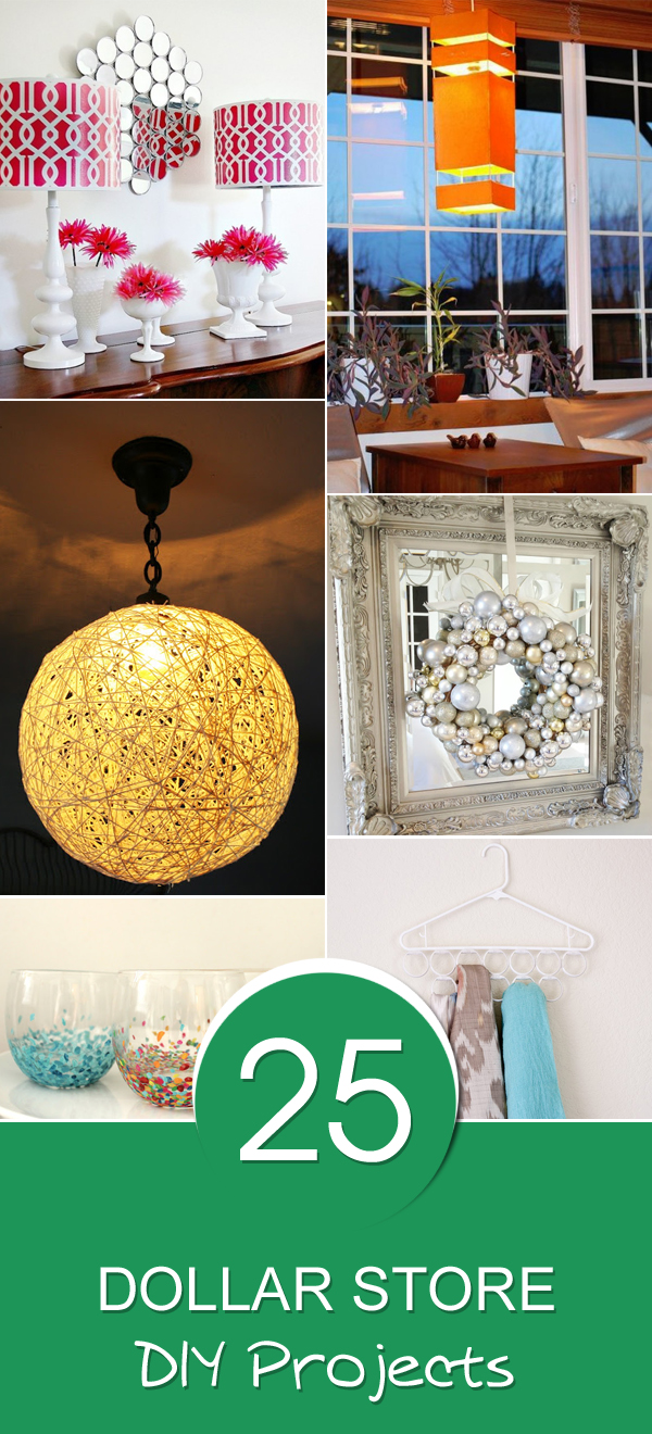 25 Dollar Store DIY Projects You Must Try