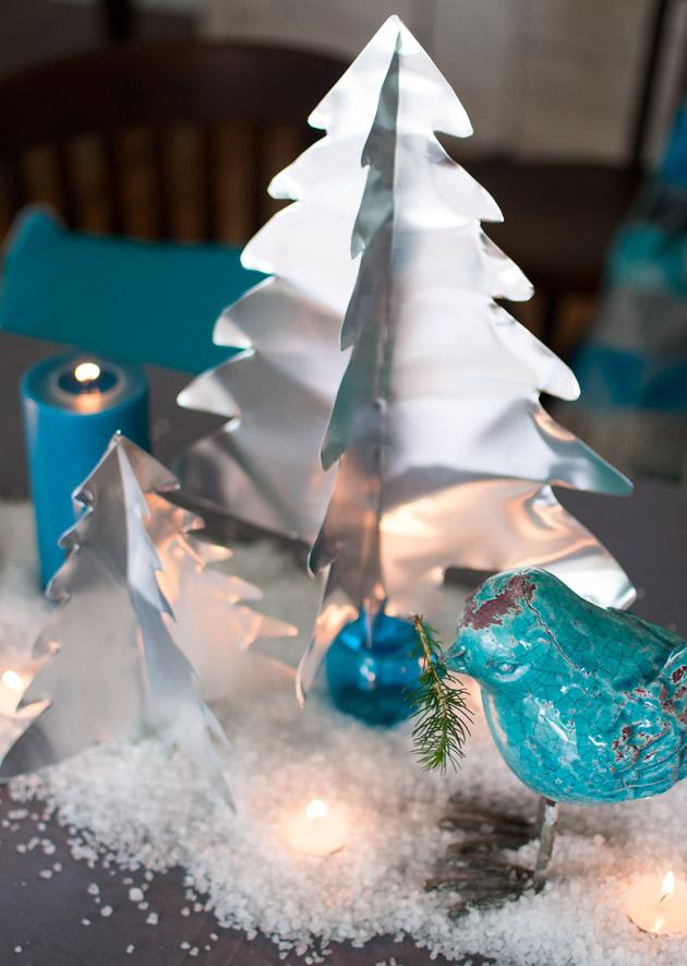 3D Christmas Tree from Cheap Aluminium Sheets