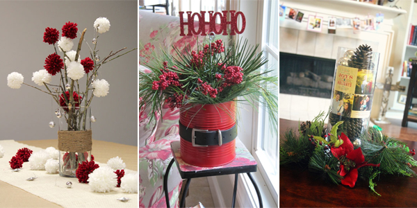 20 Festive Christmas Centerpieces You Can Make Yourself