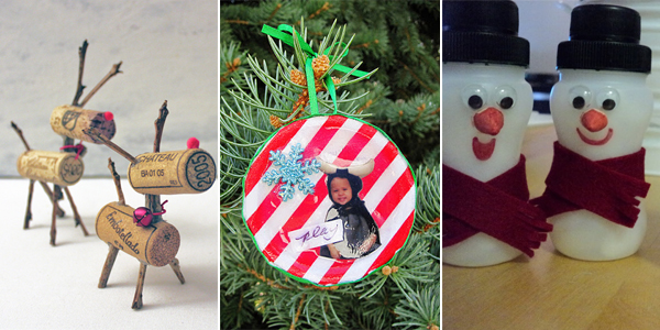 25 christmas decorations made with recycled materials - Recycled Christmas Decor
