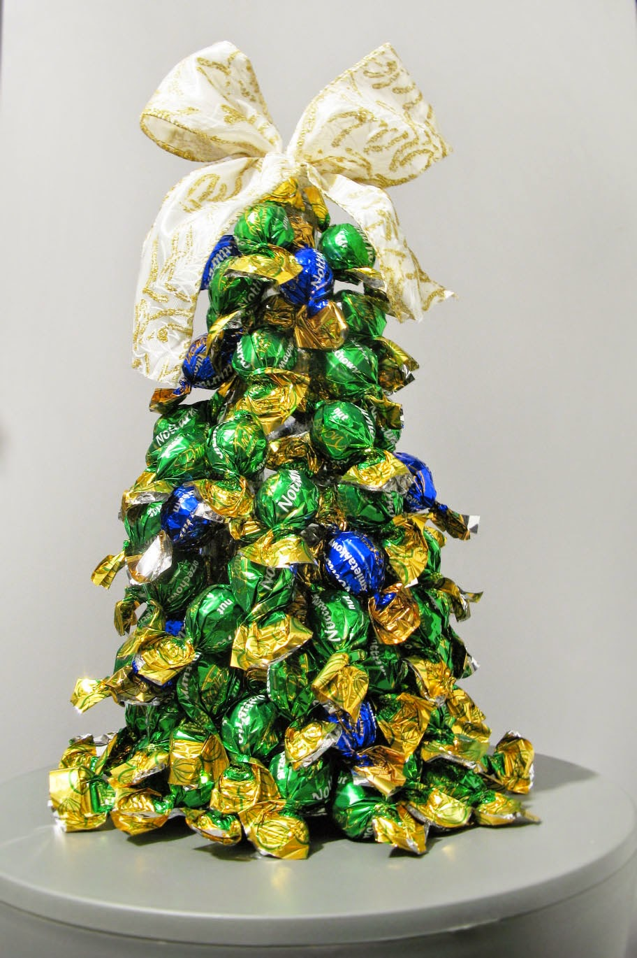 Chritmas Tree Made of Candies