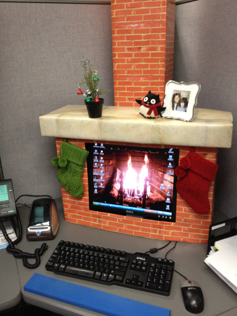 Computer Fireplace