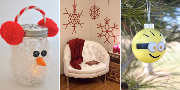 20 Easy Cheap Diy Christmas Crafts