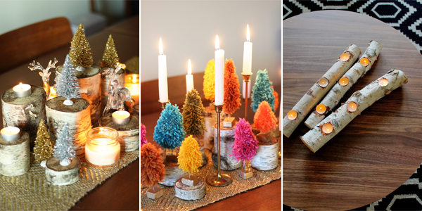 25 gorgeous diy christmas table decorations - Diy Christmas Table Decorations