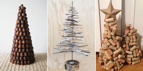 20 Adorable DIY Mini Christmas Trees You're Going to Love