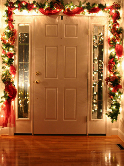 Decorate the Inside of Your Front Door