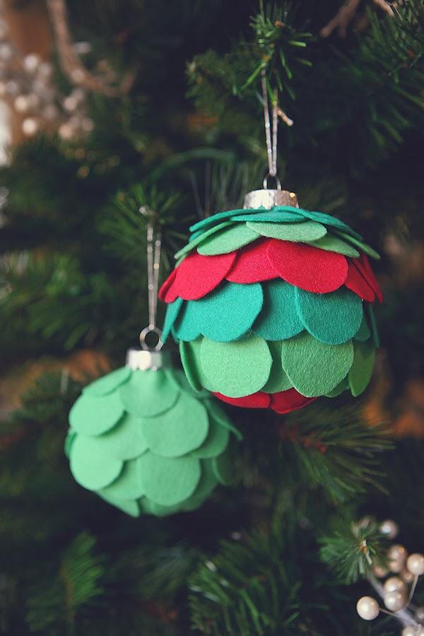 20 Easy Fun Amp Affordable Christmas Ornaments Anyone Can Make
