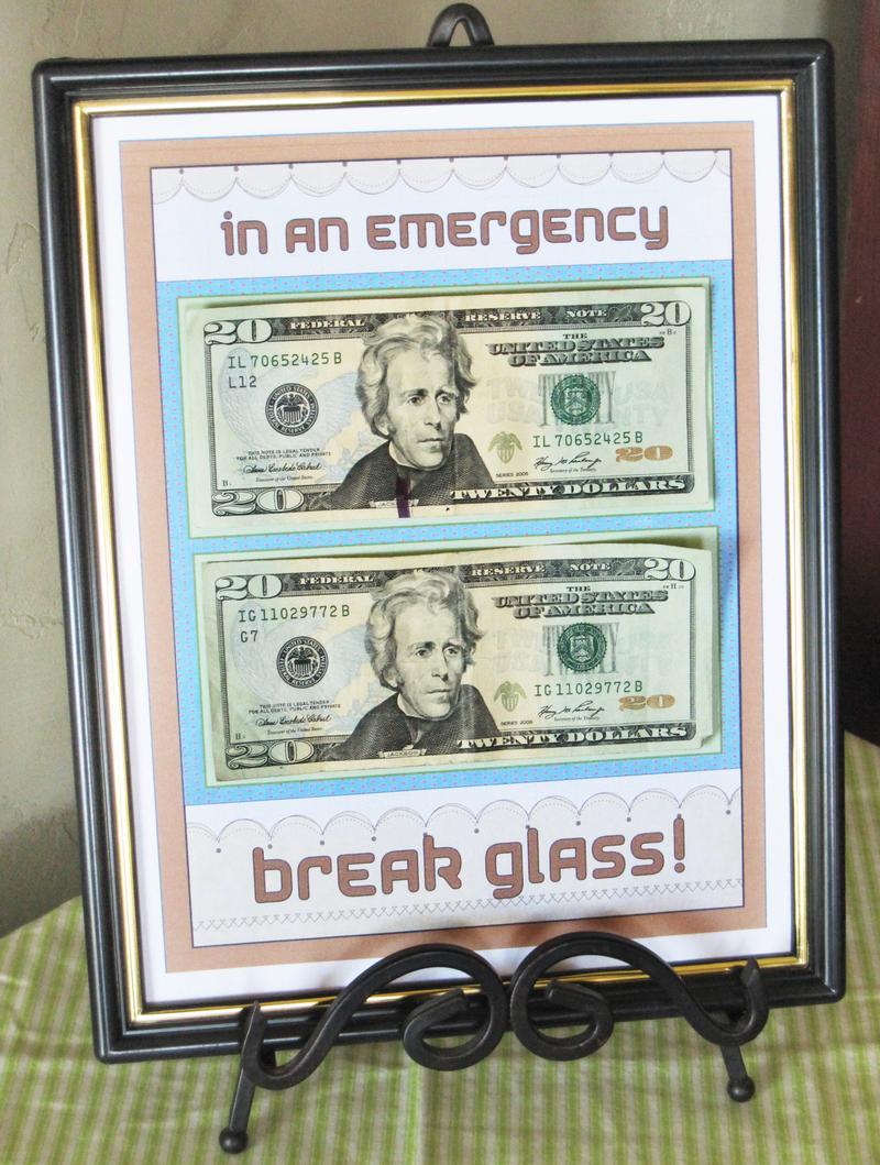 Frame money