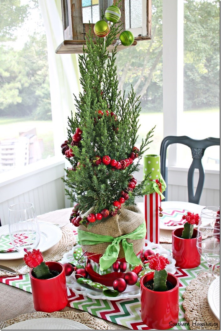 Fun and Festive Christmas Centerpiece