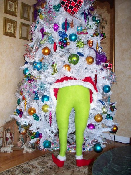 Grinch in the Tree