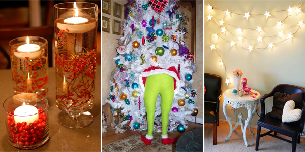 25 homemade christmas decoration ideas - Homemade Christmas Decorations Ideas