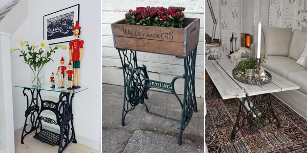 TOP 40 Awesome Ideas To Recycle Your Old Sewing Machines Beauteous Old Singer Sewing Machine Chairs