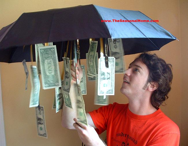 It's raining money