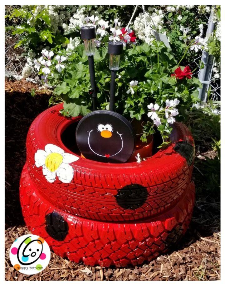 Ladybug Planter