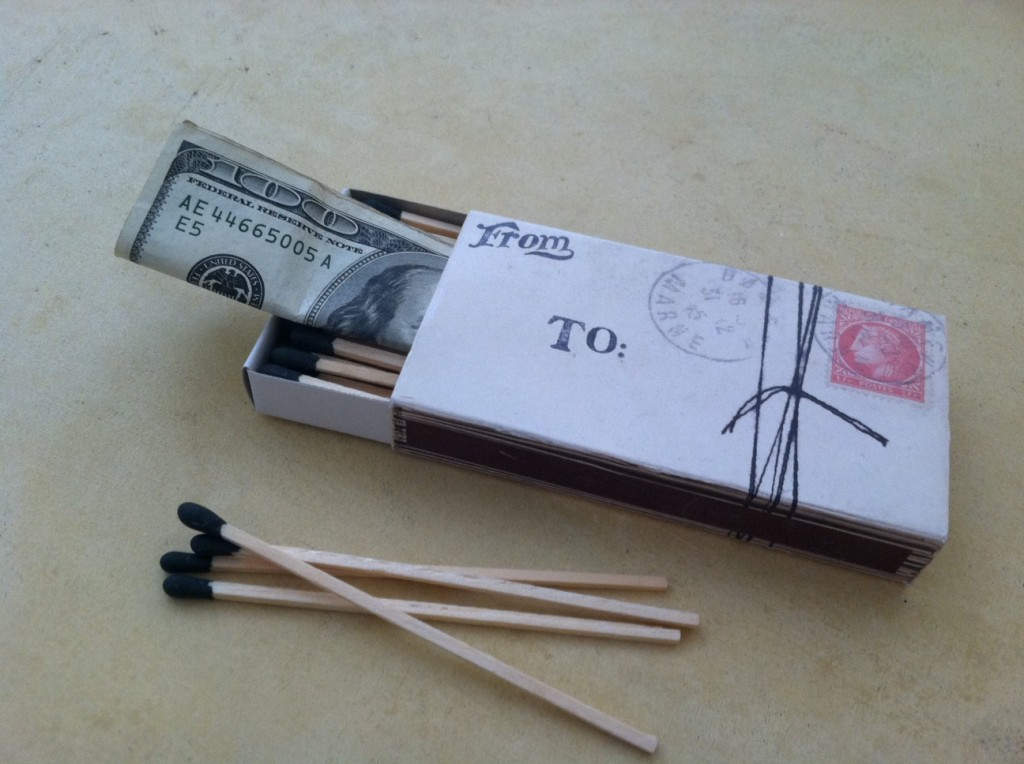 Matchbox money