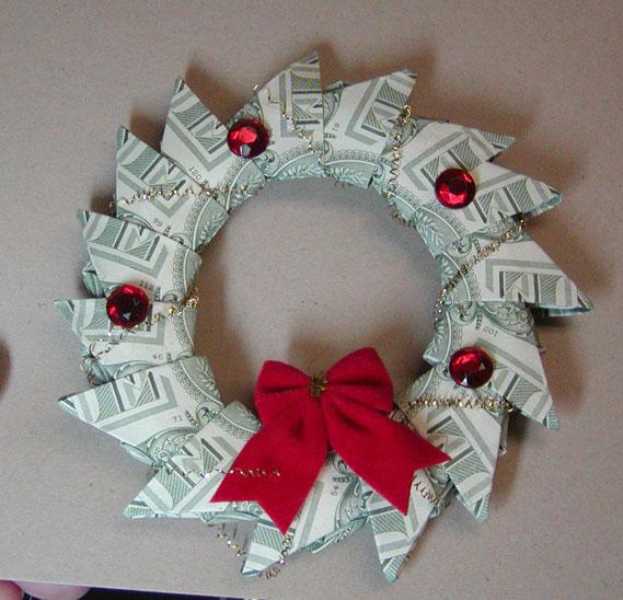 Money Wreath