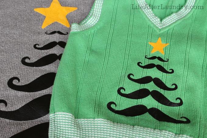 Mustache Sweaters
