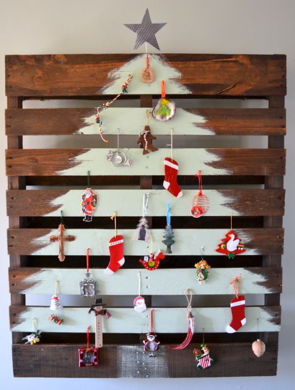 Christmas Trees Made From Pallets.15 Amazing Diy Pallet Christmas Tree Ideas