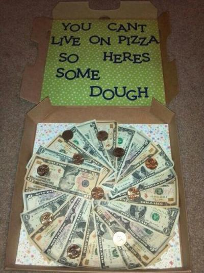 Try this pizza box with a surprise inside