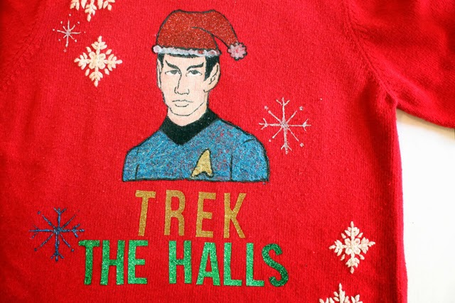 Star Trek Spock Christmas Sweater