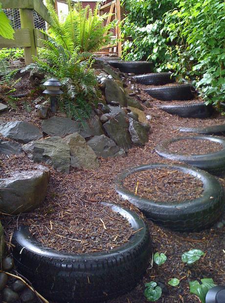 Tire Steps