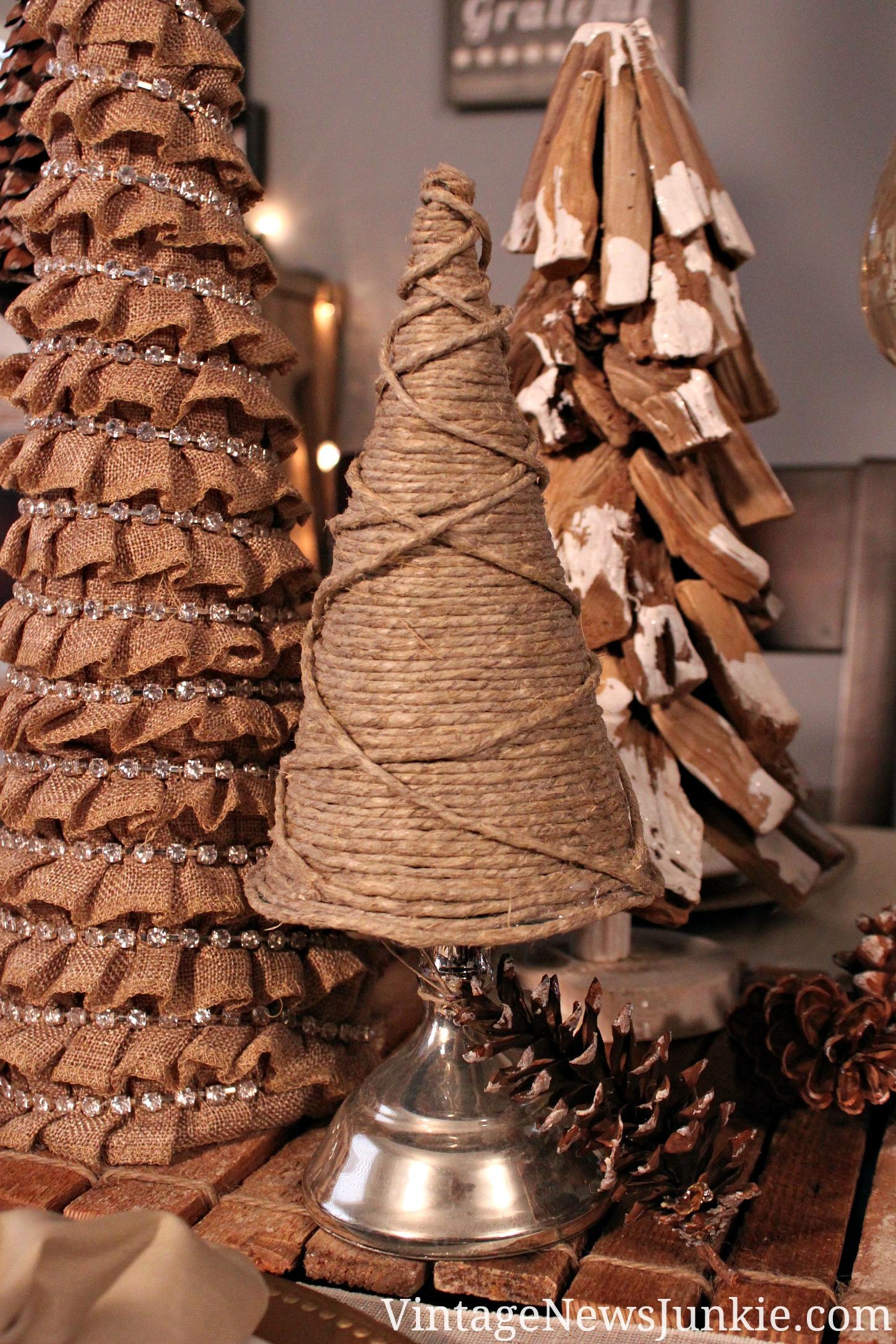Twine Christmas tree