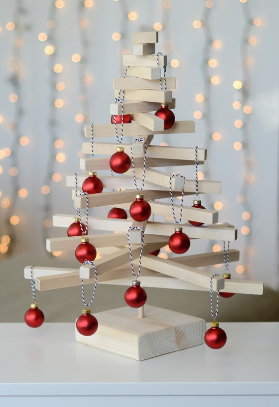 Diy Christmas Tree Table Decoration : Gorgeous diy christmas table decorations