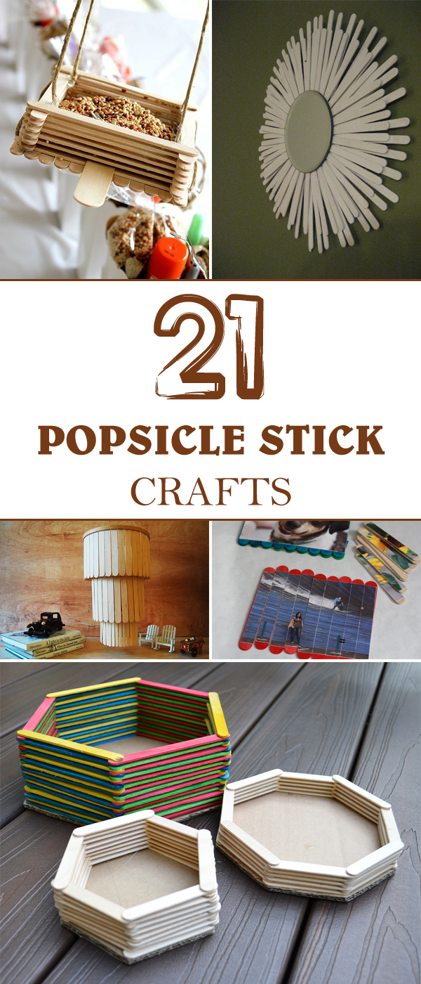 20 Awesome Popsicle Stick Crafts
