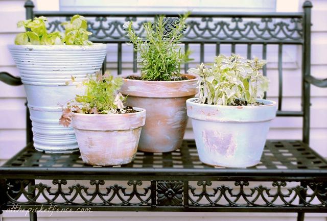 Age Your Garden Pots