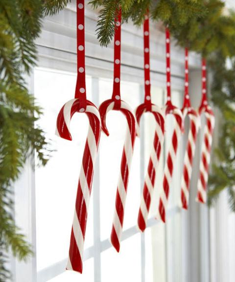 Candy Pane Hooked onto Polka-dot Ribbons