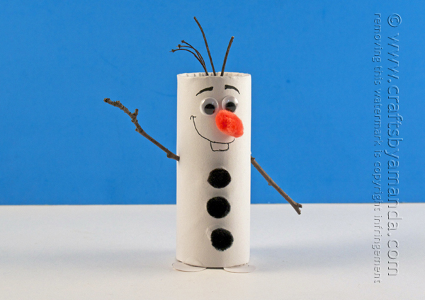 Cardboard Tube Olaf