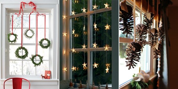 Top 10 Bright And Sparkling Christmas Window Decoration Ideas