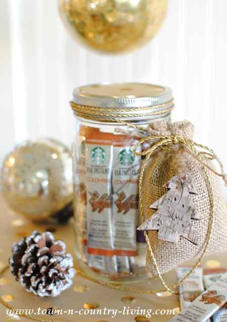 Coffee Lovers Gift in a Mason Jar