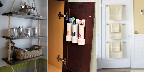 20 cheap diy storage ideas to organize your bathroom How to organize bathroom