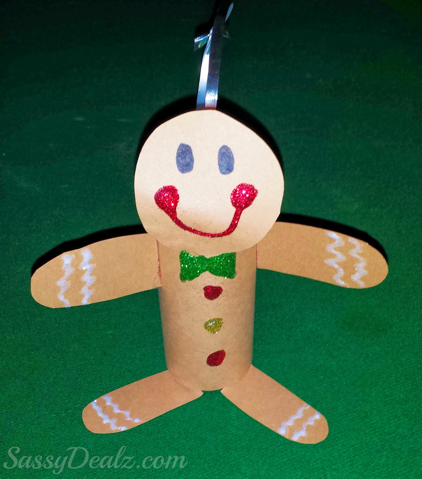 Gingerbread Man fromToilet Paper Roll