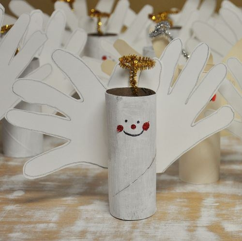 20 Christmas Decorations Made From Toilet Paper Rolls
