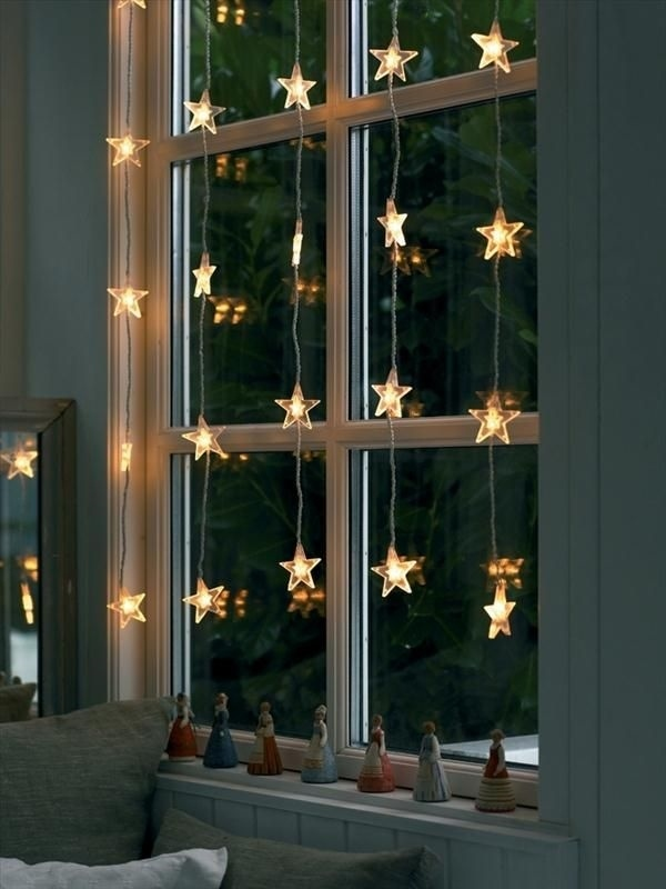 Hang String Lights to Create a Real Magic